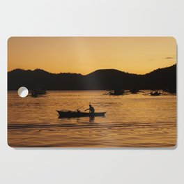Tranquil Coron Cutting Board