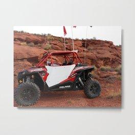 Polaris RZR in Sand Hollow - St George, UT Metal Print