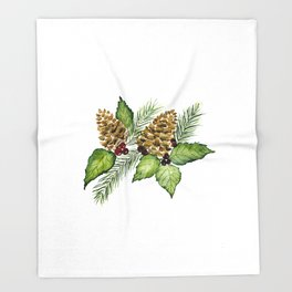 Pine For Me Throw Blanket