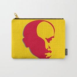 Vladimir Ilich Lenin stencil silhuette portrait Carry-All Pouch