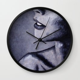 Collar Bone Wall Clock