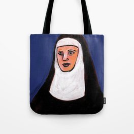 Nun Three Tote Bag