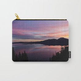 Crater Lake at Sunrise Carry-All Pouch