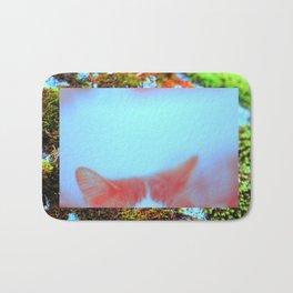 meow. Bath Mat
