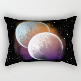Together forever - Planets Rectangular Pillow