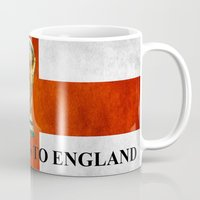 world cup Mugs featuring World Cup by Rothko