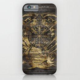 Vegvisir - Viking  Navigation Compass iPhone Case