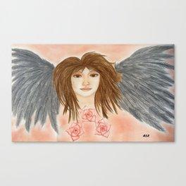 Angel By Saribelle Rodriguez Canvas Print