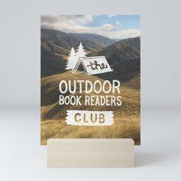 The Outdoor Book Readers Club Mini Art Print