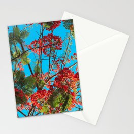Bright Tropical Tree Stationery Cards