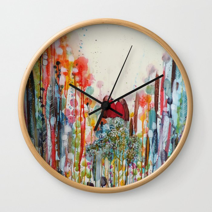 been loving you for always Wall Clock
