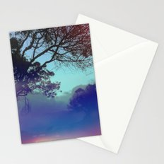 Santa Barbara - The fog rolled in and my mind rolled out. Stationery Cards
