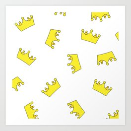 Crowns Art Print
