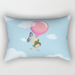 Don't Swallow Your Bubble Gum Rectangular Pillow