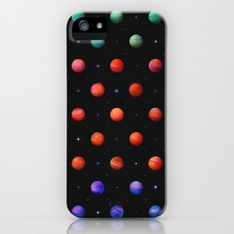 Polka in Space (1) iPhone Case