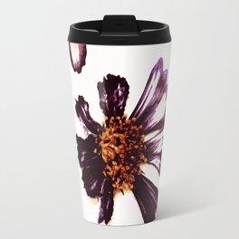 Pressed Autumn Flowers Travel Mug