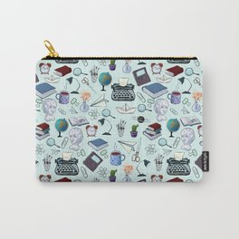 Pattern about school and teachers Carry-All Pouch