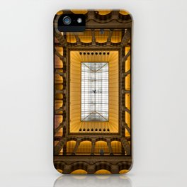 Amsterdam Shopping Center Lobby Architecture iPhone Case