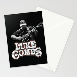 Luke combs Poster Stationery Cards