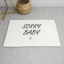 Sorry Baby - Villaneve Rug