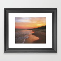 A Summers morning Framed Art Print