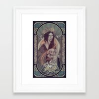 rose gold Framed Art Prints featuring Rose Gold by Eevien Tan