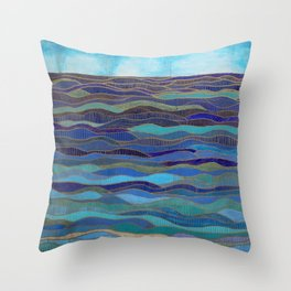 In Calm Waters Throw Pillow