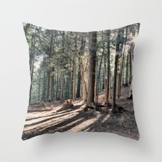 Fingers of Shadows Throw Pillow