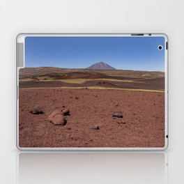 Lava field. Lava mountains of different colors. Laptop & iPad Skin