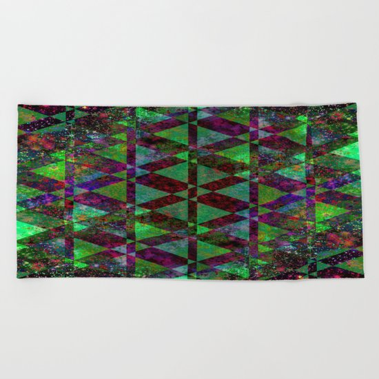 SIMPLY ABSTRACT Beach Towel