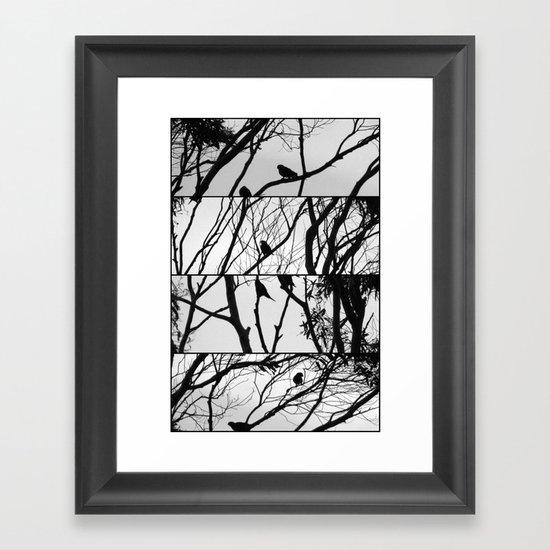7 O'Clock - Polyptych Framed Art Print