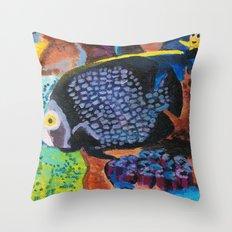 Fish 3 Series 1 Throw Pillow
