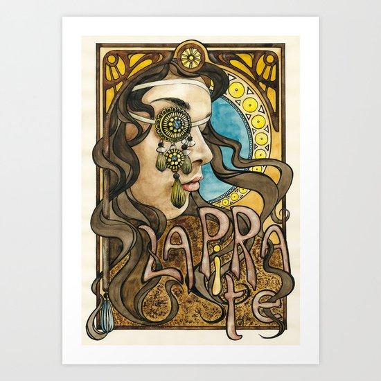 La Pirate Art Print
