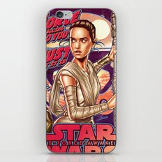 The Force Is Calling To You iPhone & iPod Skin