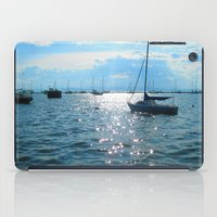 sailing iPad Cases featuring Sailing by Rene Robinson