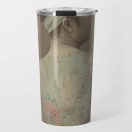 19th Century Japanese Tattoo (Tree) Travel Mug