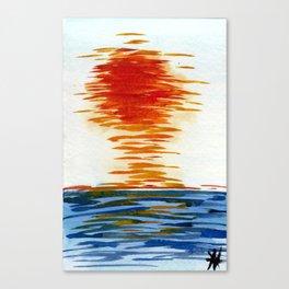 San Onofre Sunset Canvas Print