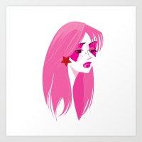 jem Art Prints featuring Jem by breakfastjones