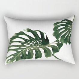 Minimalist Monstera Rectangular Pillow