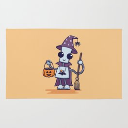 Ned's Halloween Witch Rug