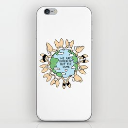 We Are Different But the Same Corgis iPhone Skin