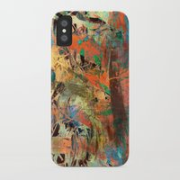 warcraft iPhone & iPod Cases featuring Huáscar and Atahualpa by Fernando Vieira