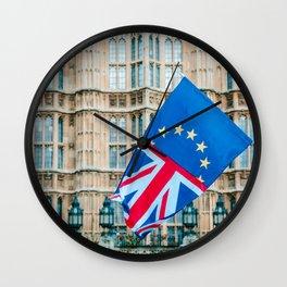 Britain in the EU Wall Clock
