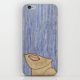 Rain Girl iPhone Skin