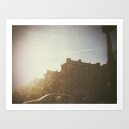 Paris, june 2013 Art Print