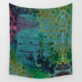 Sound Effects in Teal Wall Tapestry