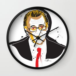 Steve BuscemiINK_Mr. Pink Wall Clock
