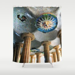 Gaudi Series - Parc Güell No. 2 Shower Curtain