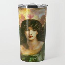 """Dante Gabriel Rossetti """"Astarte Syriaca"""" Travel Mug"""