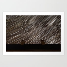 Cluttered Night Sky Art Print